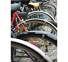 Oxford Bicycles Photographic Print