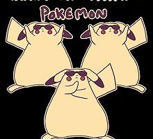 Gentleman Pikachu Parody by zerojigoku