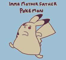Gentleman Pikachu Parody Kids Clothes
