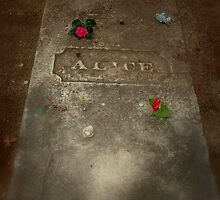 Alice's Gravestone by Adrena87