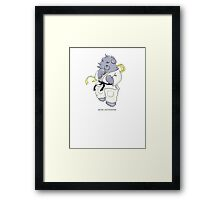 BEARS and FIGHTERS - Makoto Framed Print