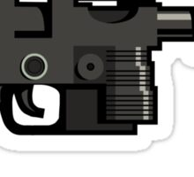 Ray Gun #4 Sticker