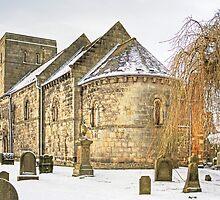 Dalmeny Parish Church by Tom Gomez