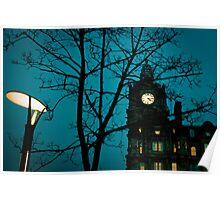 Balmoral clock Poster