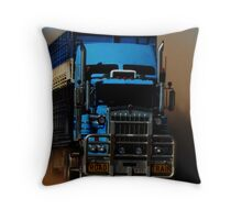Outback Truckie Throw Pillow