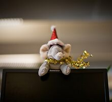 Nellie the Christmas Elephant by chrisdonia