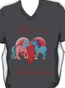 Happy Valentine Ponies T-Shirt
