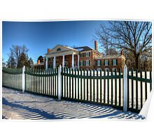 Montpelier (Home of James Madison) Poster