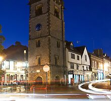 St. Albans Clock Tower by Evening by Greg Webb