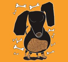 Sausage Dog Front by Diana-Lee Saville