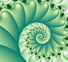 Mandelshell by Sandra Bauser Digital Art