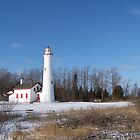 Sturgeon Point Lighthouse by MichiganGirl