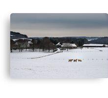 Rural Kent Canvas Print