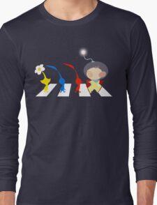 Pikmin Abbey Road Long Sleeve T-Shirt