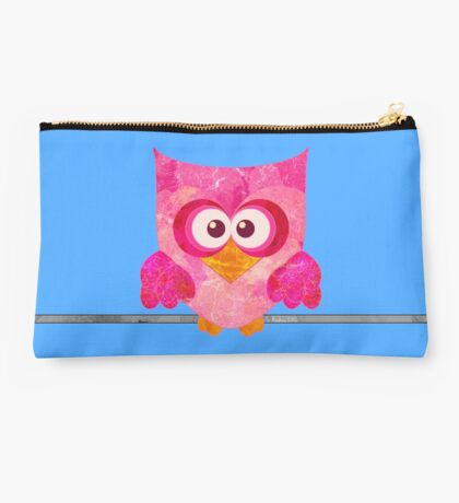 Owl on a Wire Studio Pouch