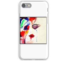 Drawn by the Fire iPhone Case/Skin