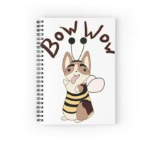 Bow Wow Gus Beesuit Spiral Notebook