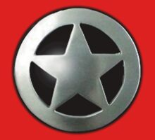 Sheriff star badge by Steve Dunkley