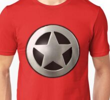 Sheriff star badge Unisex T-Shirt