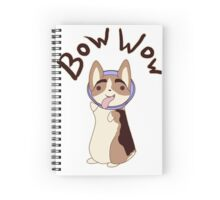 Bow Wow Gus Cone Spiral Notebook