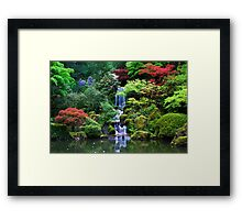 A Japanese Way of Life Framed Print