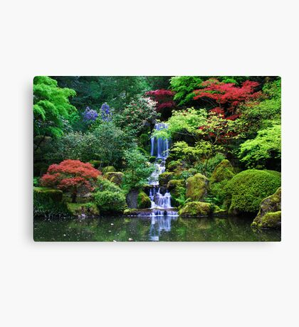 A Japanese Way of Life Canvas Print