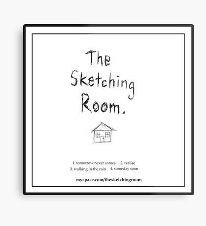 The Sketching Room (demo cover) Metal Print