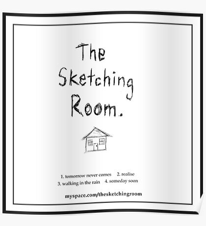 The Sketching Room (demo cover) Poster