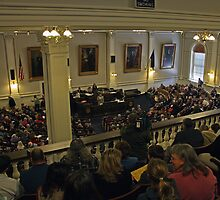 NHLA Gallery at NH State House by AntonLee