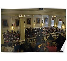 NHLA Gallery at NH State House Poster