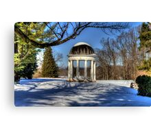 The Rotunda at Montpelier Canvas Print