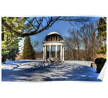 The Rotunda at Montpelier Poster
