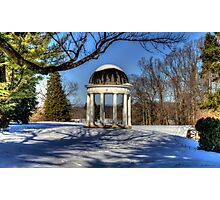 The Rotunda at Montpelier Photographic Print