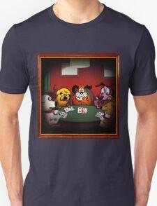 Dogs Playing Poker Unisex T-Shirt