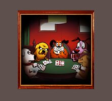 Dogs Playing Poker Unisex T-Shirt