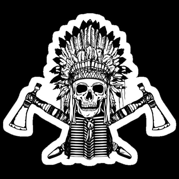Skull Chief by ZugArt