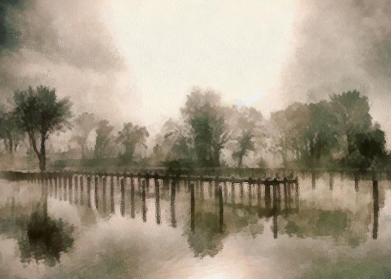 Misty Morning by Bunny Clarke