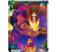 4408 Psychedelic Orchids  iPad Case/Skin
