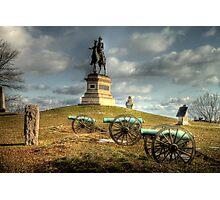 The Battlefield at Gettysburg Photographic Print