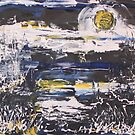 Night of the Blue Moon 16x20 acrylic on canvas by eoconnor