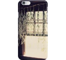 herb window iPhone Case/Skin