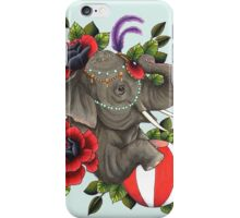 Circus Elephant iPhone Case/Skin