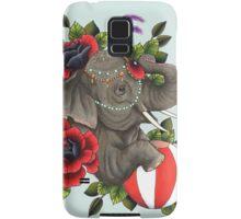 Circus Elephant Samsung Galaxy Case/Skin