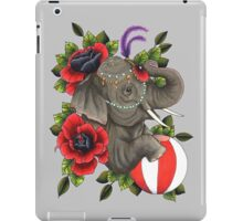 Circus Elephant iPad Case/Skin
