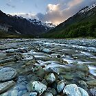 Mount Cook Riverscape by Robert Mullner