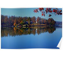 A Calm Fall Day Poster