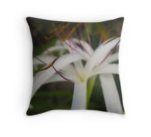 Hazy Beauty Throw Pillow
