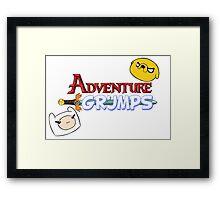Adventure Grumps Framed Print