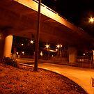 watch your step under the bridge  by Paul Van Lierop