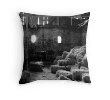 Isaac Long's Barn Throw Pillow